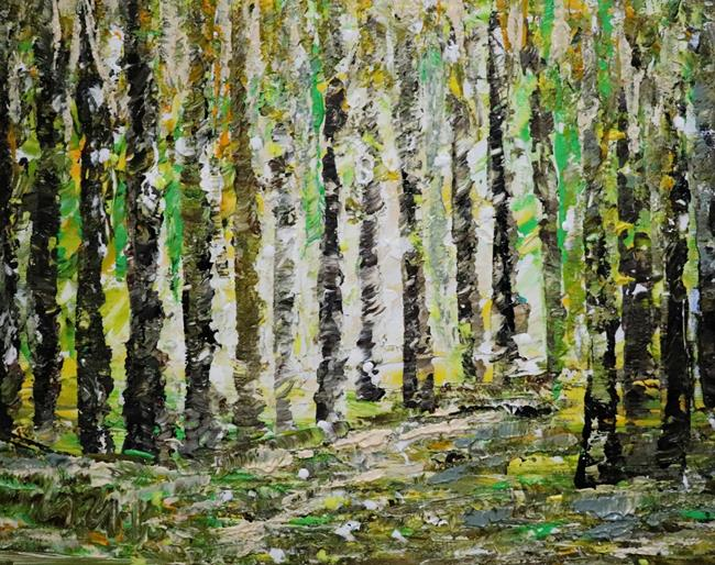 Art: The Forest Lights by Artist LUIZA VIZOLI