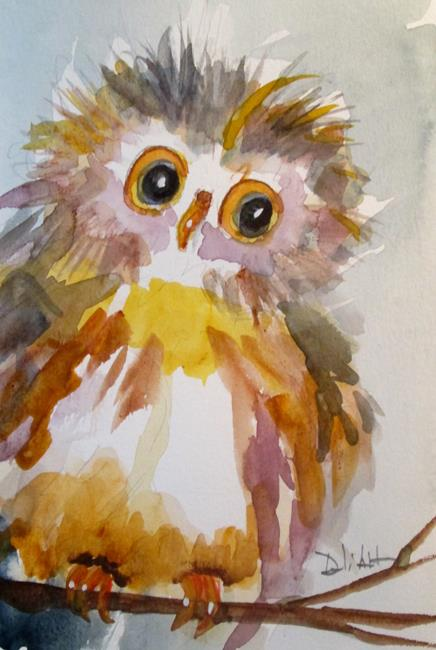 Art: Sweet Owl by Artist Delilah Smith