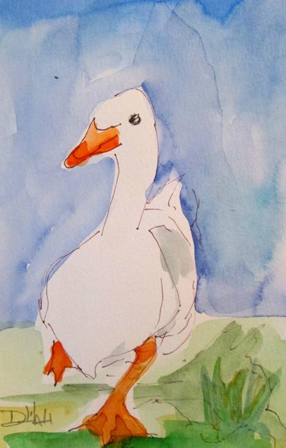 Art: Duck No. 7 by Artist Delilah Smith