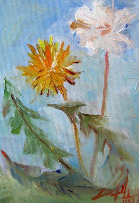 Art: Dandelion No. 3 by Artist Delilah Smith