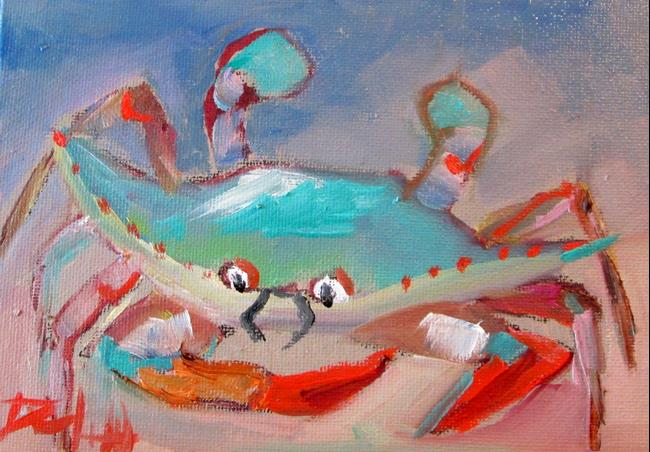 Art: Blue Crab No. 23 by Artist Delilah Smith