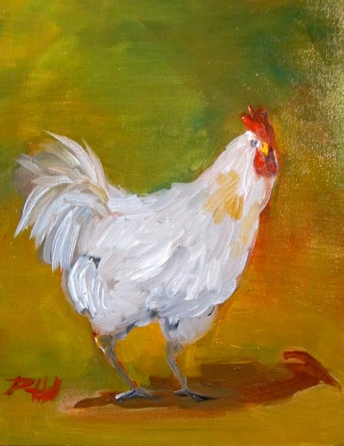 Art: Chicken No. 64 by Artist Delilah Smith