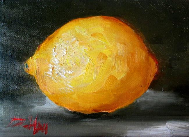 Art: Lemon No. 5 by Artist Delilah Smith