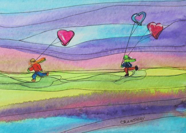 Art: Free Series by Artist Kathy Crawshay