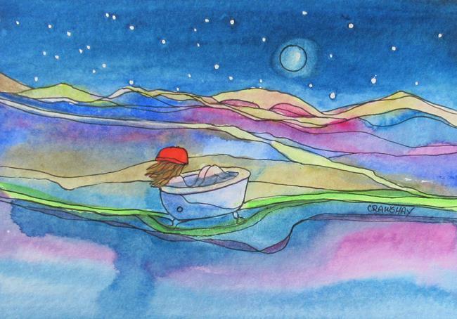 Art: Free New by Artist Kathy Crawshay