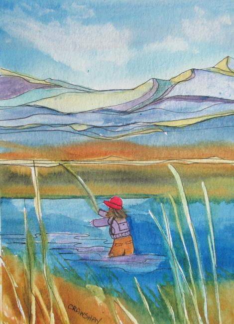 Art: May Covid Series by Artist Kathy Crawshay