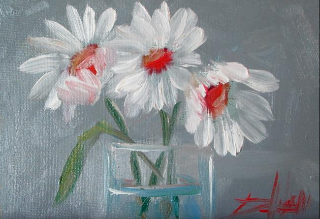 Art: Daisies in a Jar by Artist Delilah Smith
