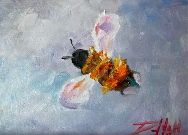 Art: Bumble Bee No. 3 by Artist Delilah Smith