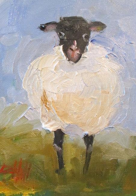 Art: Sheep No. 8 by Artist Delilah Smith