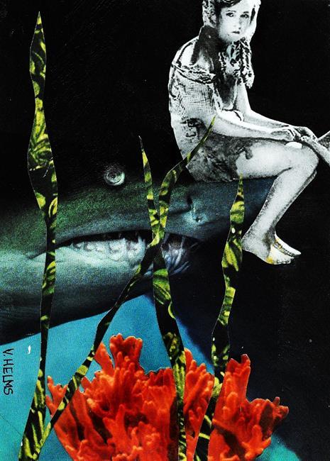 Art: Just Around the Corner by Artist Vicky Helms