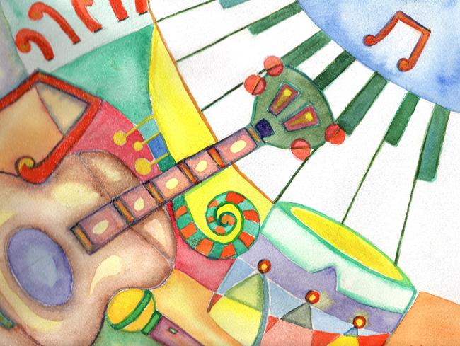 Art: rhapsody rhythm by Artist Nata Romeo ArtistaDonna