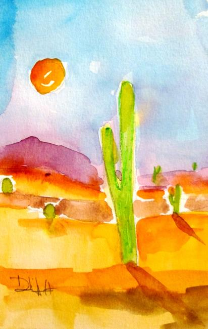 Art: Arizona Sun by Artist Delilah Smith