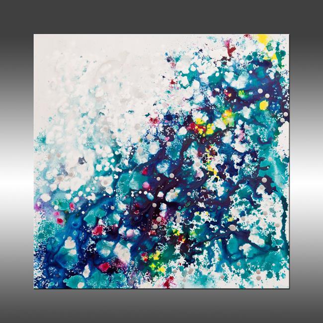 Art: Liquid Energy 26 by Artist Hilary Winfield