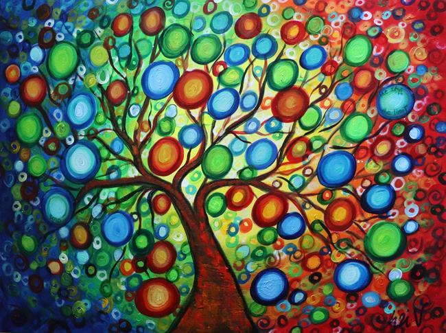 Art: Seasons of Joy   by Artist LUIZA VIZOLI
