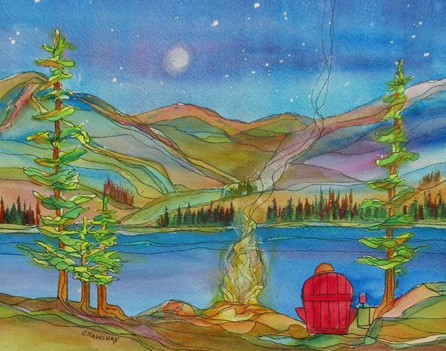 Art: Taking Time by Artist Kathy Crawshay