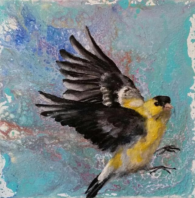 Art: Taking Flight by Artist Kimberly Vanlandingham