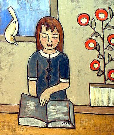 Art: student by Artist Cynthia Kathleen Agathocleous