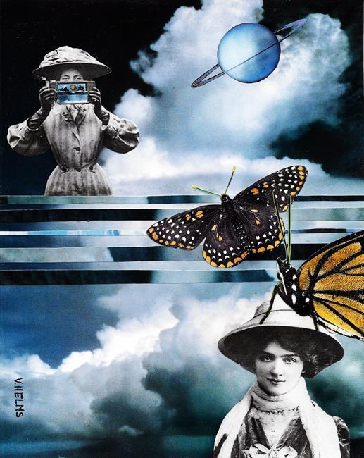Art: Wings (SOLD) by Artist Vicky Helms