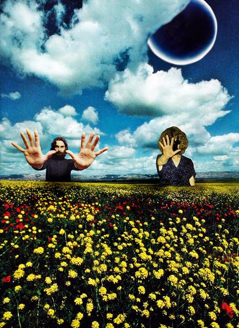 Art: Relationship Series   Eclipse of the Soul by Artist Vicky Helms