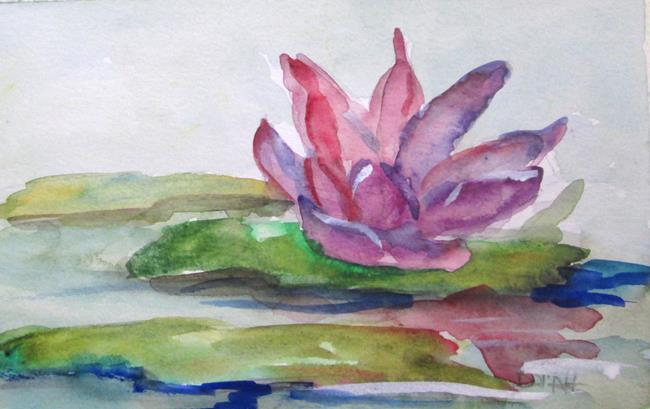 Art: Water Lily by Artist Delilah Smith