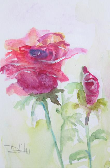 Art: My Rose Garden by Artist Delilah Smith