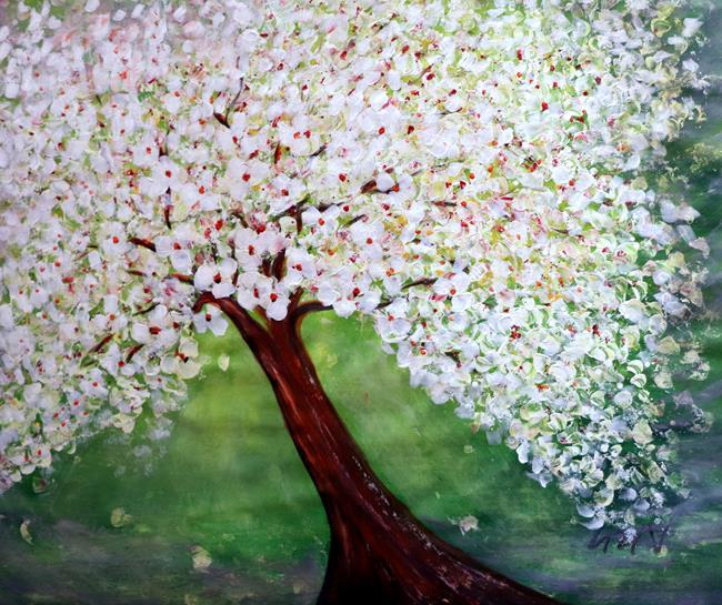 Art: A New Beginning! by Artist LUIZA VIZOLI
