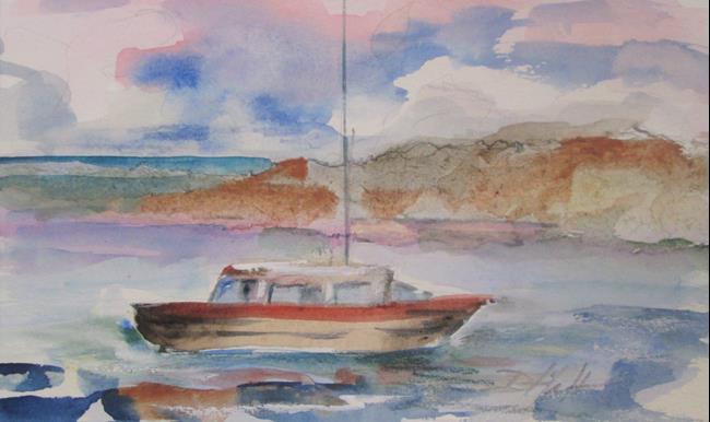 Art: Sailboat No. 29 by Artist Delilah Smith