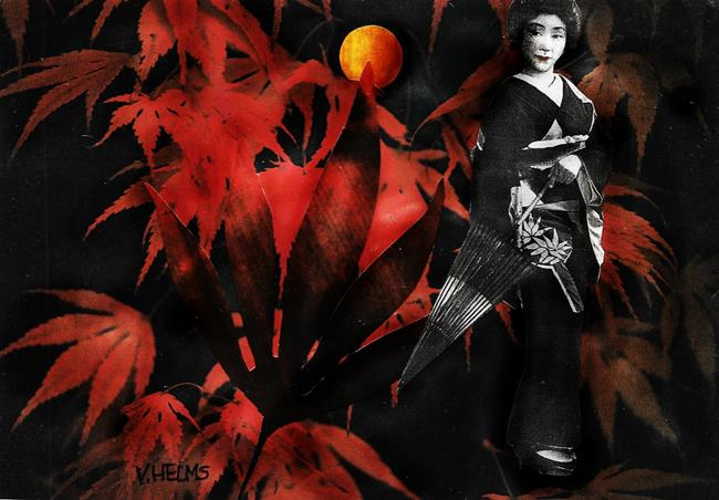 Art: Geisha by Artist Vicky Helms