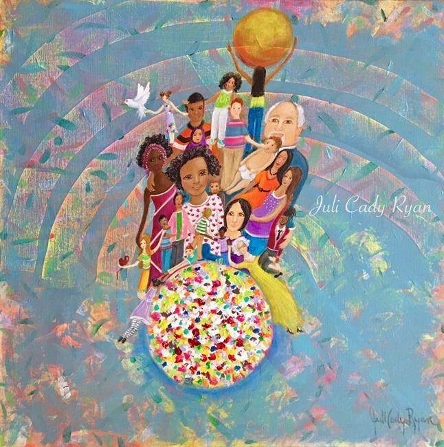 Art: The Uplift by Artist Juli Cady Ryan