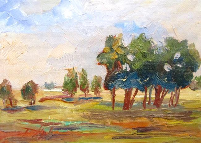 Art: Field of Trees by Artist Delilah Smith