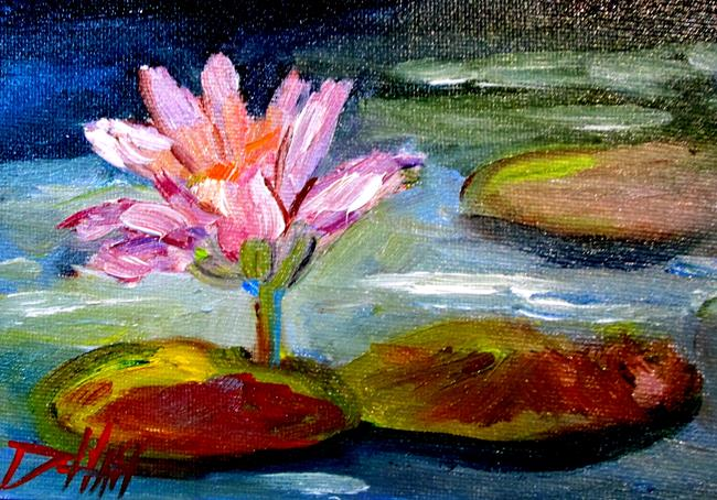 Art: Waterlilies by Artist Delilah Smith