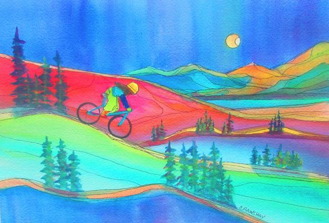 Art: Exploring by Artist Kathy Crawshay