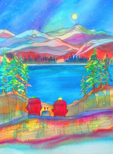 Art: Best Chums by Artist Kathy Crawshay
