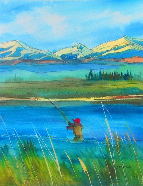 Art: Free Day by Artist Kathy Crawshay
