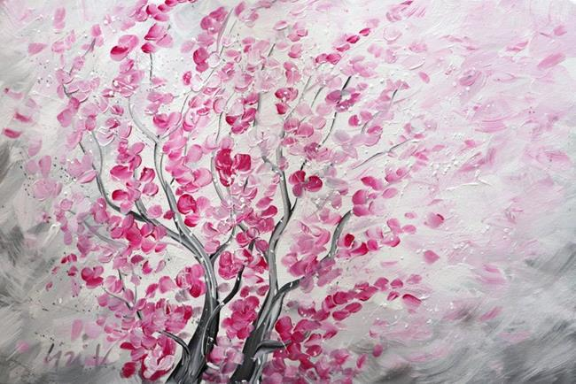 Art: CARRIED by the SPRING WIND by Artist LUIZA VIZOLI