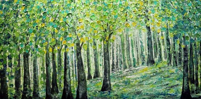 Art: THE GREEN SEASON by Artist LUIZA VIZOLI