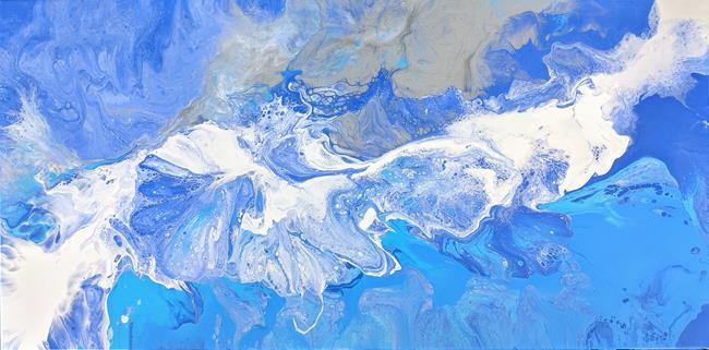 Art: Ocean Song II by Artist Amber Elizabeth Lamoreaux