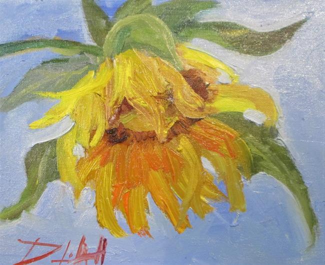 Art: Sunflower No. 9 by Artist Delilah Smith