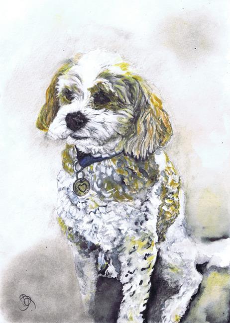 Art: CHARLIE by Artist Dawn Barker