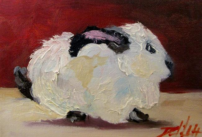Art: Fuzzy Bunny by Artist Delilah Smith