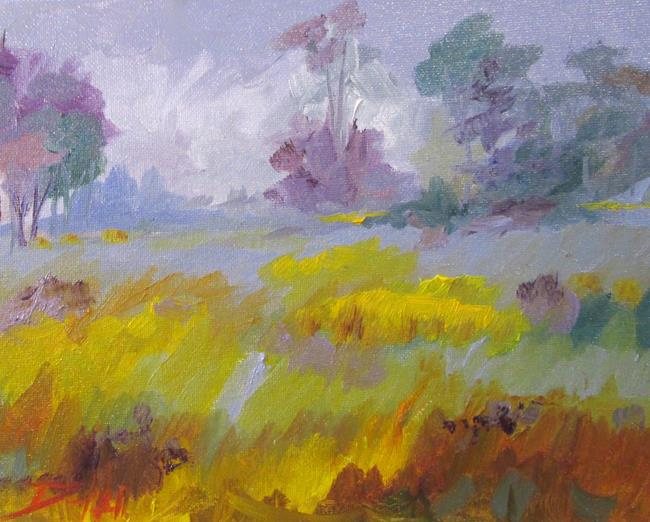 Art: The Field by Artist Delilah Smith