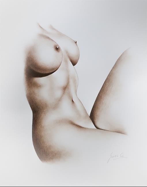 Art: Female Torso by Artist Ewa Kienko Gawlik