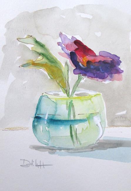 Art: Flower Still Life No.17 by Artist Delilah Smith
