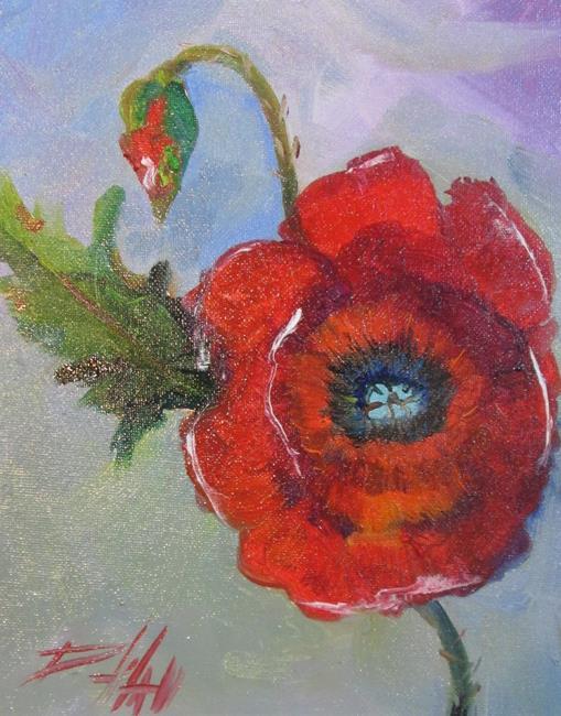 Art: Poppy  No. 16 by Artist Delilah Smith