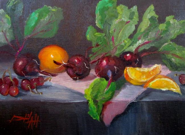 Art: Beets No. 4 by Artist Delilah Smith