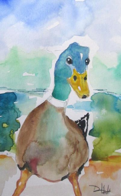 Art: Mallard No. 3 by Artist Delilah Smith