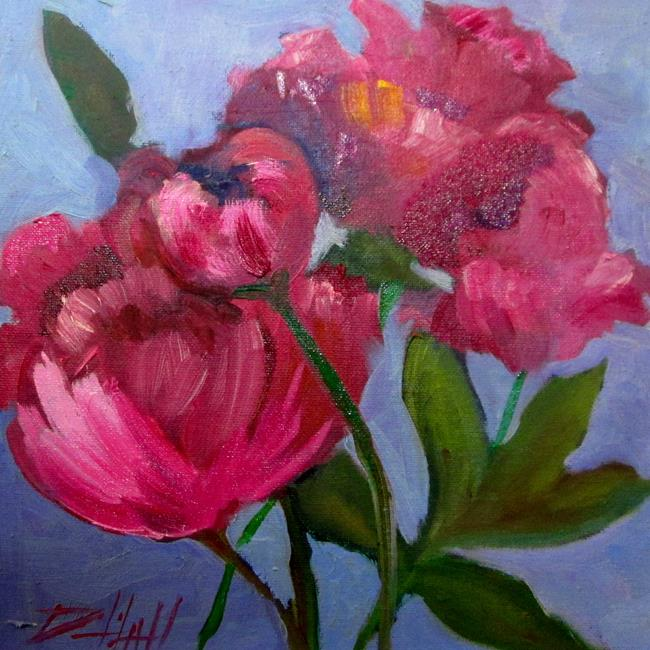 Art: Peonies No. 5 by Artist Delilah Smith