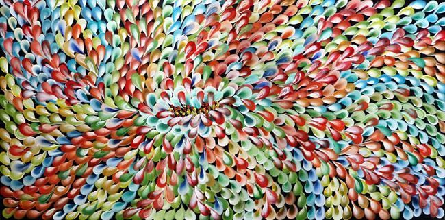 Art: Petals THROUGH SEASONS by Artist LUIZA VIZOLI