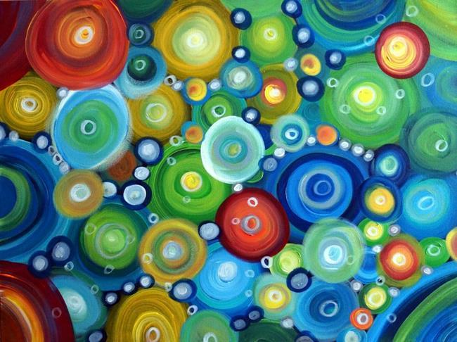 Art: CIRCLES and MOTION by Artist LUIZA VIZOLI