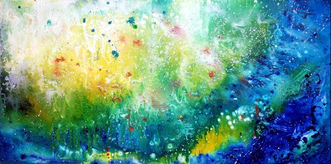 Art: A NEW BEGINNING ... by Artist LUIZA VIZOLI